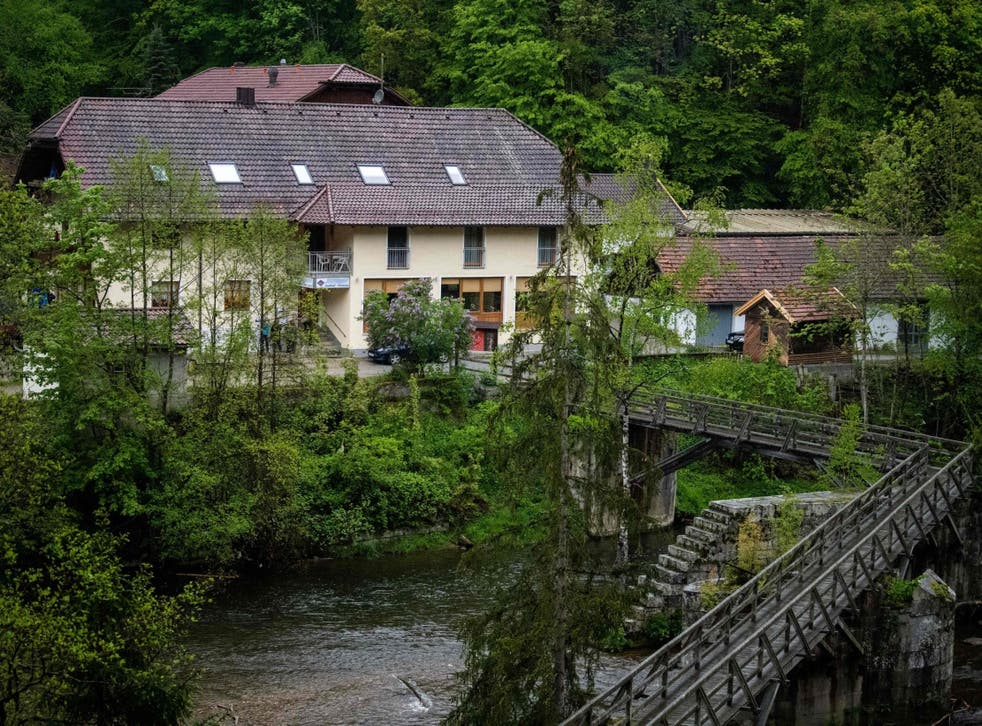 A police investigation began after three people were found dead in a hotel on the banks of the river Ilz in Passau, southern Germany