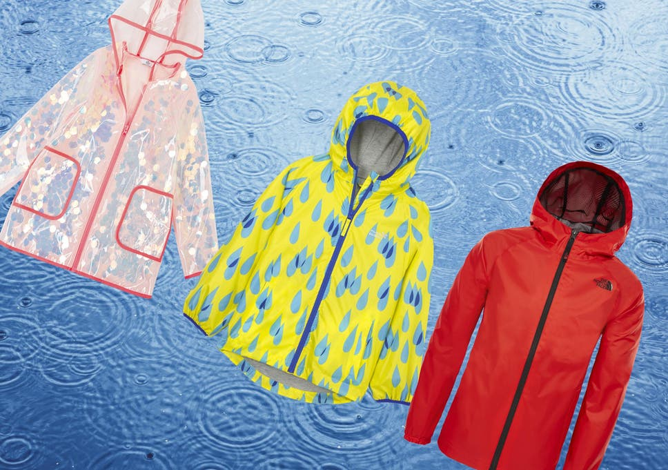 66bd9e7b1 Our little testers jumped in plenty of puddles to find you coats that  really are weatherproof