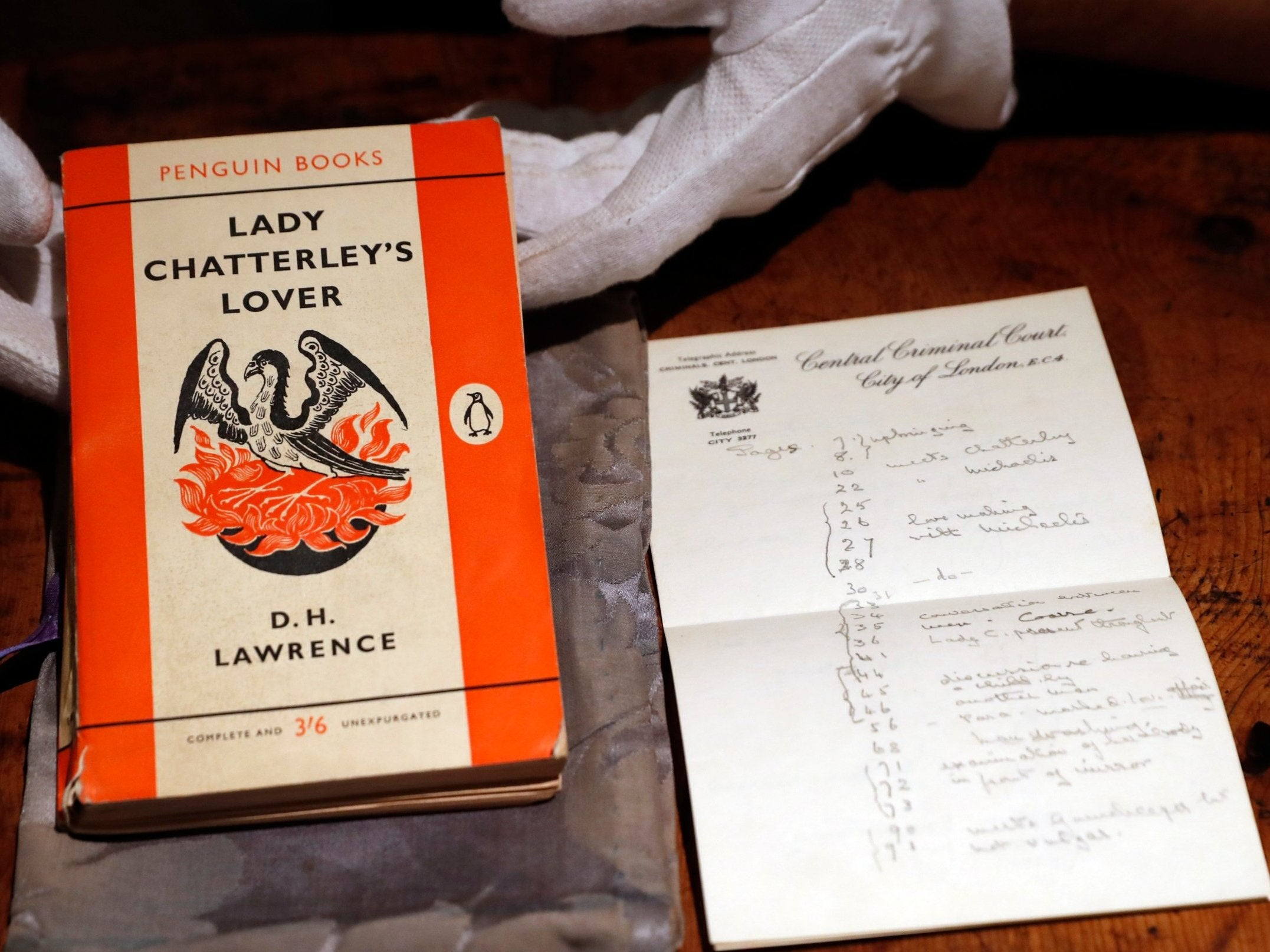 Lady Chatterley's Lover hailed as 'sacred text' in attempt to prevent rare copy leaving UK