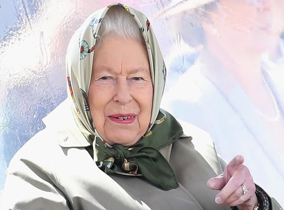 Queen Elizabeth II at the Royal Windsor Horse Show