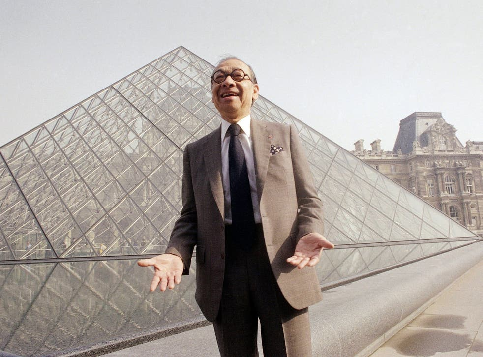 I. M. Pei, esteemed architect has died at 102.