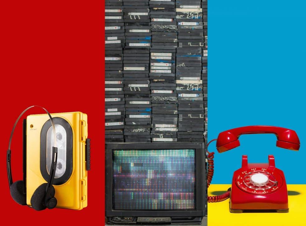 Back to the future: imagine a world WITH cassettes and landline phones