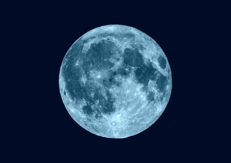 The full moon on 18 May, 2019, will be the final blue moon of the decade