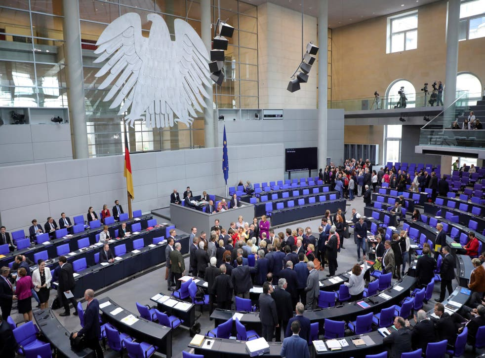 The German Bundestag would be one of the national parliament to get a vote on the deal