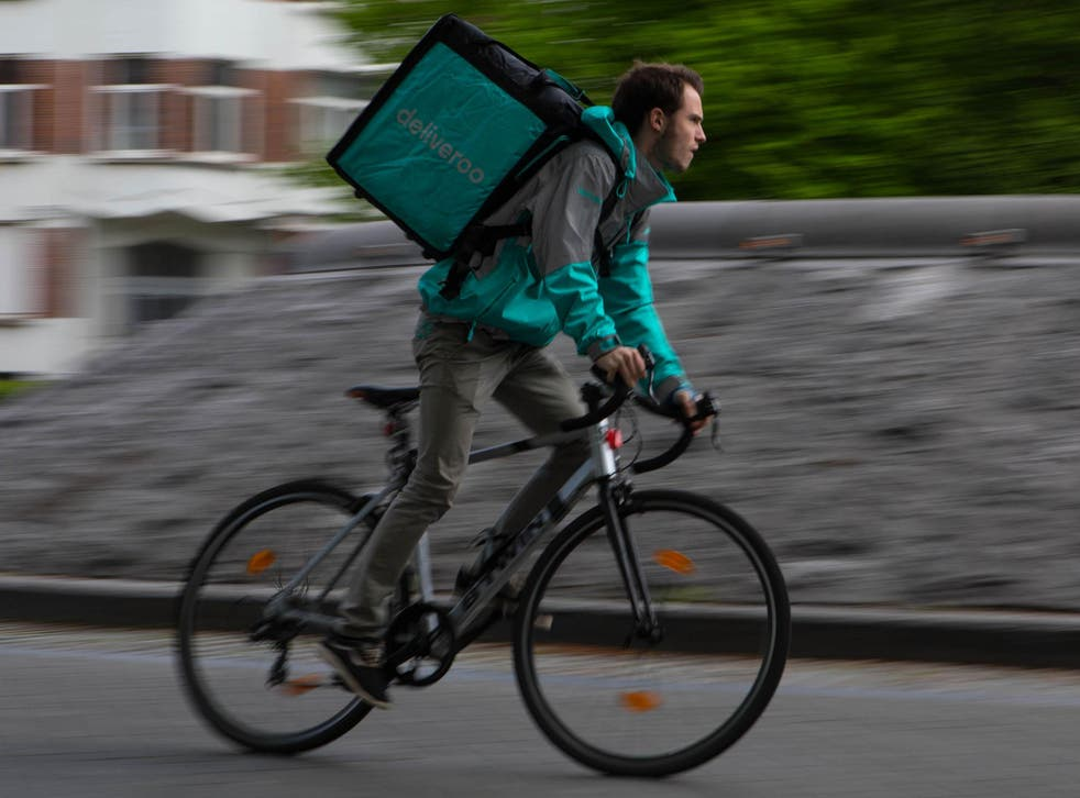 """Competition and Markets Authority (CMA) said it had """"reasonable grounds for suspecting"""" that the agreement could """"result in Amazon and Deliveroo ceasing to be distinct."""""""
