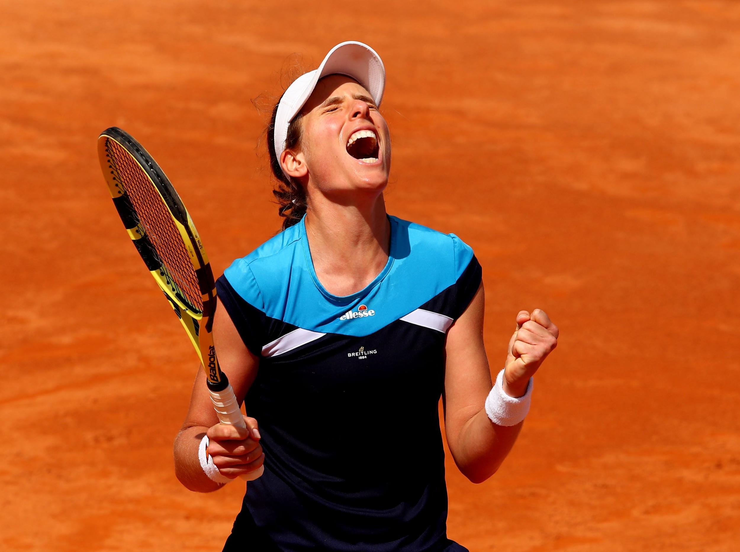 Italian Open 2019: Johanna Konta beats Kiki Bertens in close match to reach final