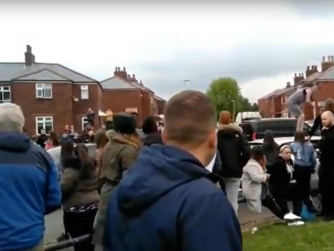Tommy Robinson: 13 suspects arrested over disorder by 'Muslim Defence League' at election rally