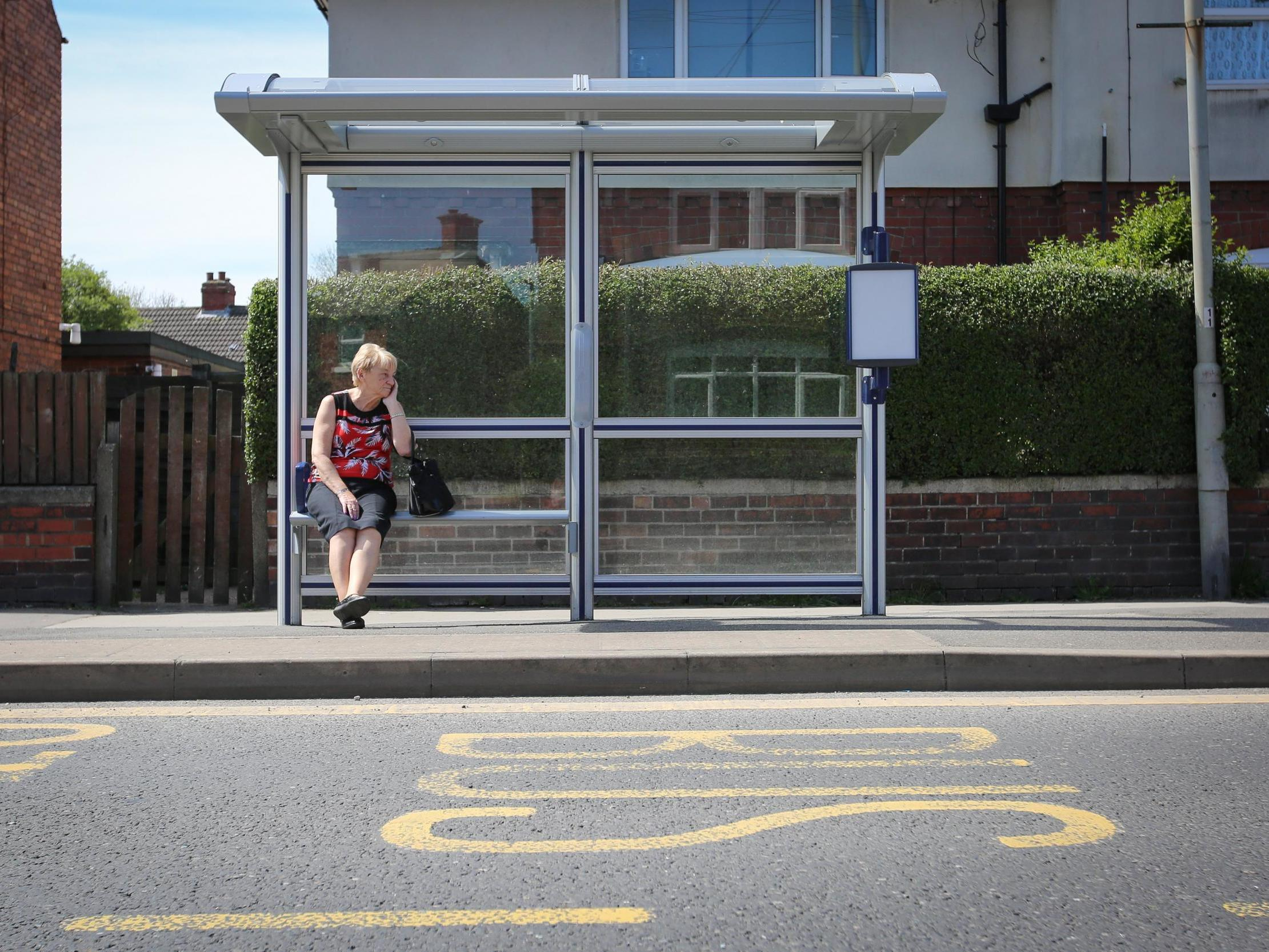 Council left red-faced after £6,000 bus shelter built in road with no buses
