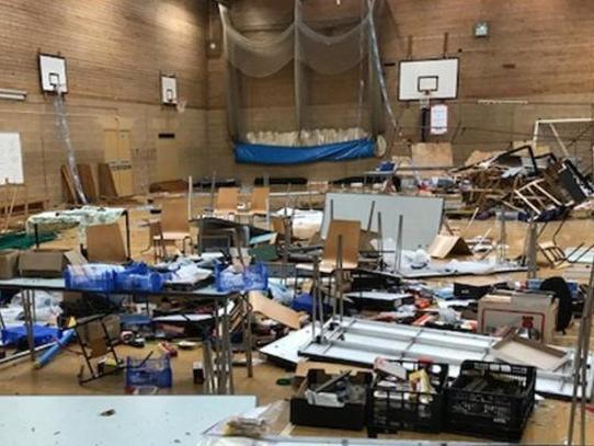 'Total wanton destruction': Model railway show trashed by vandals