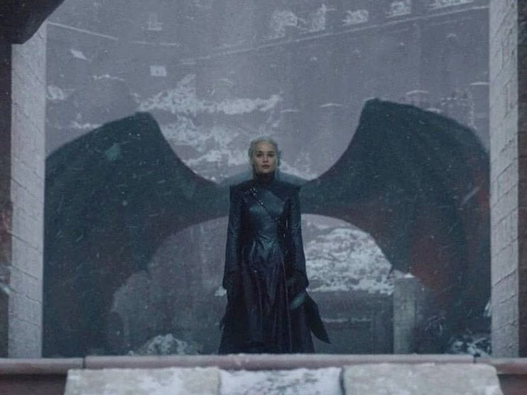 Game of Thrones finale: Emilia Clarke reacts to Daenerys