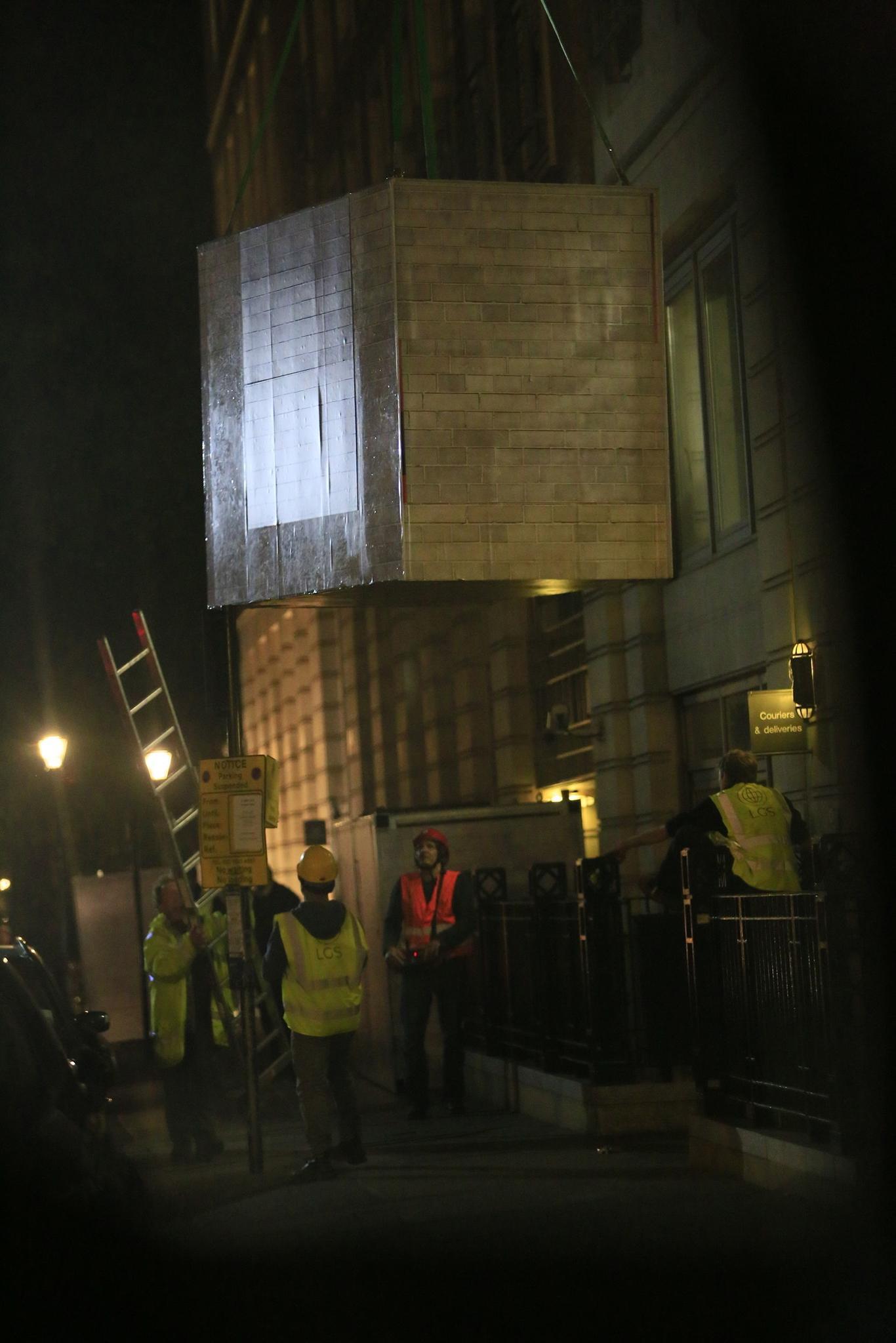 BP's London headquarters blockaded by Greenpeace climate change