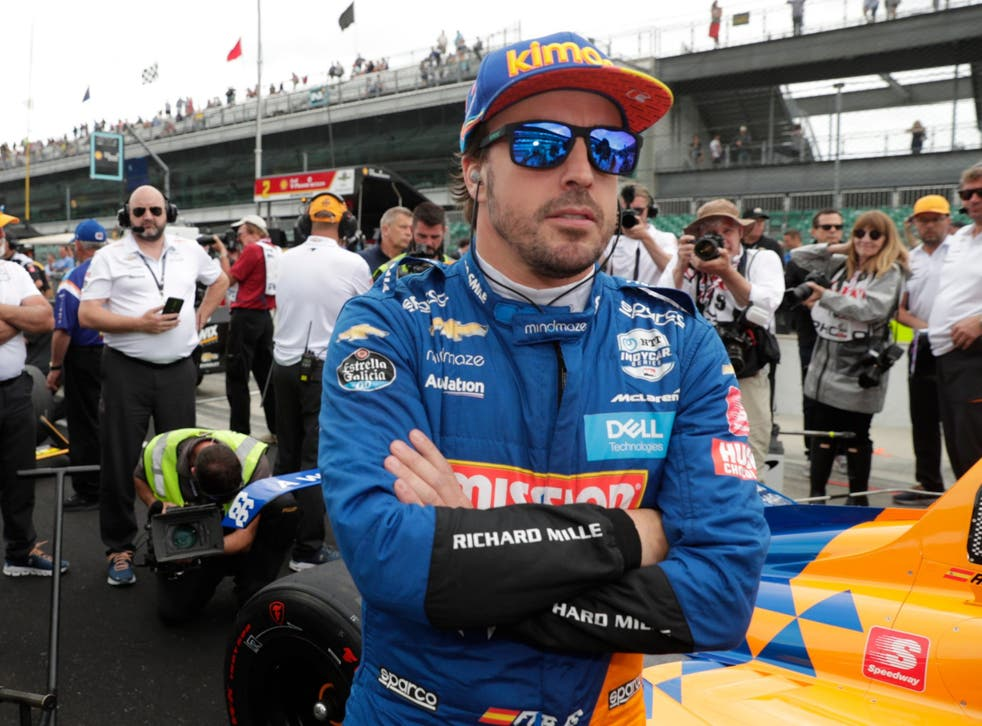 Fernando Alonso failed to qualify for the the Indy 500