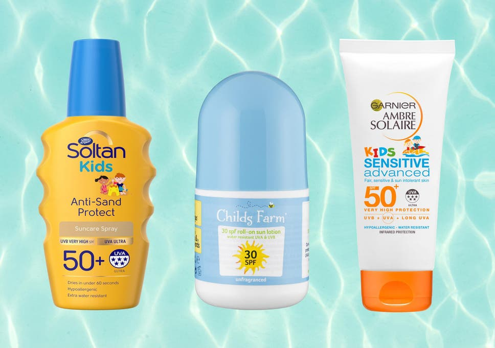 0173aaffec3 Avoid beach meltdowns with a sunscreen that keeps skin protected both in  and out of the