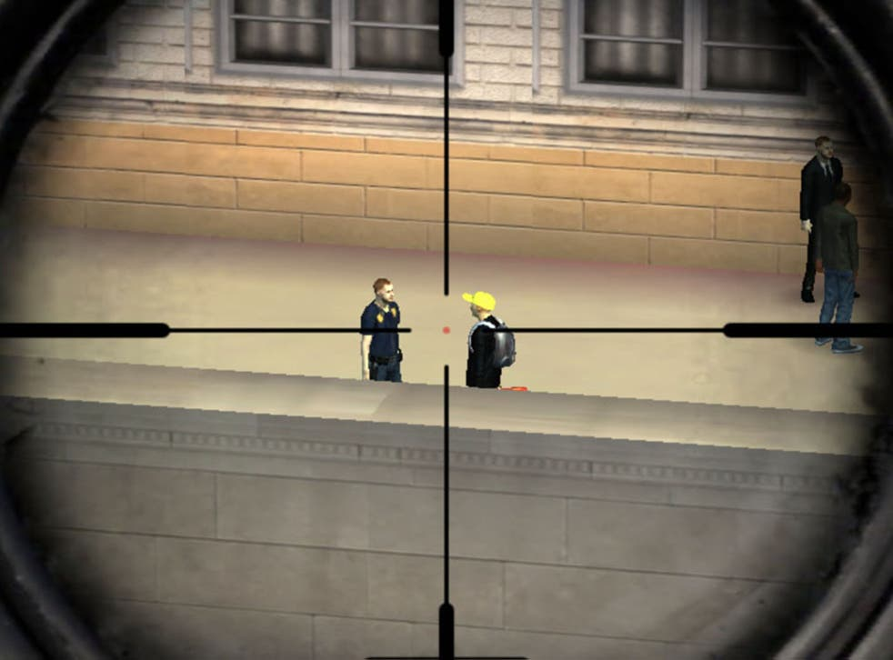 """Sniper 3D Assassin asks players to kill a journalist in the """"Breaking News"""" mission"""