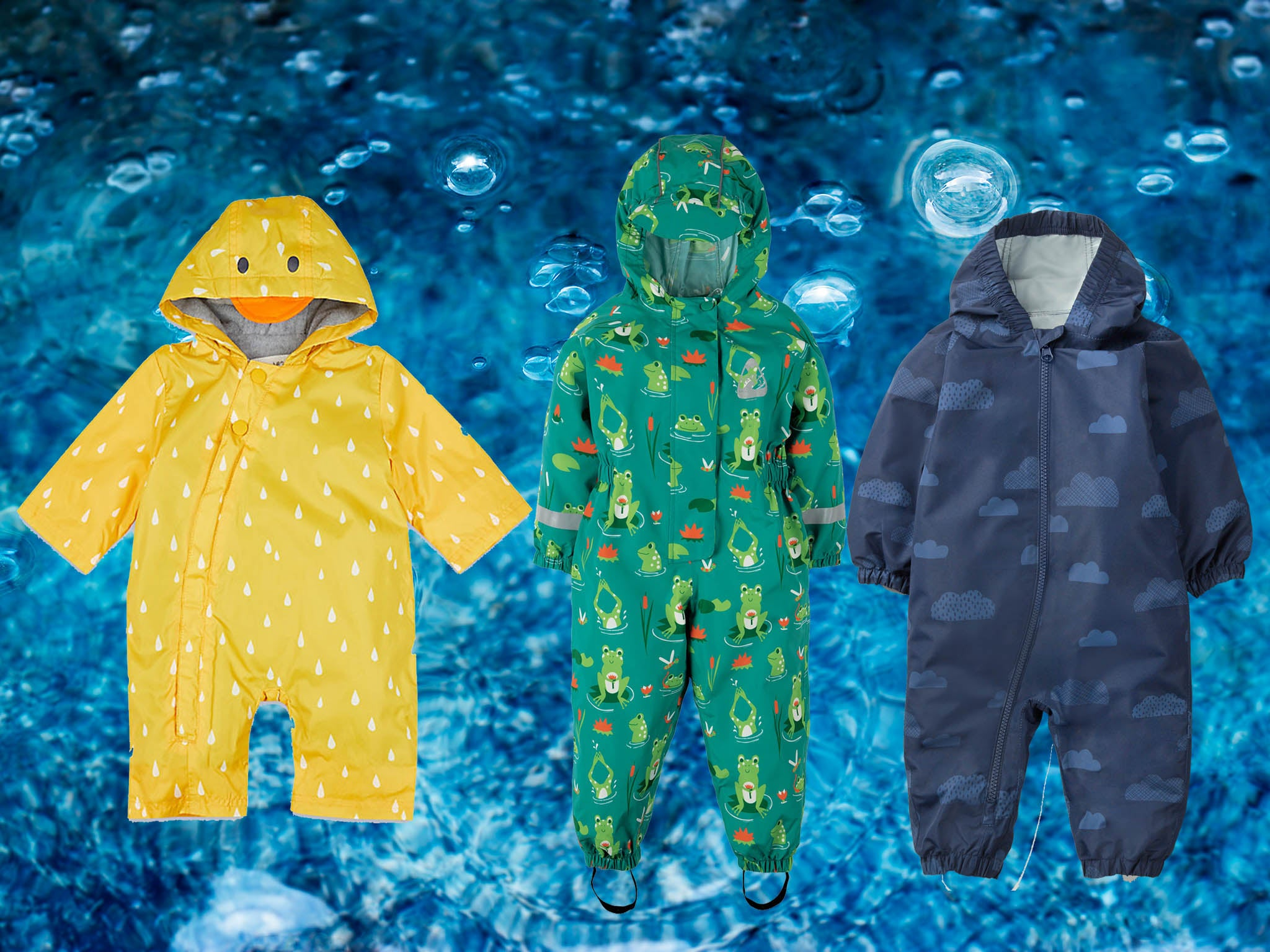 4658400c7 Best kids puddle suits that ensure rain will never stop play for toddlers
