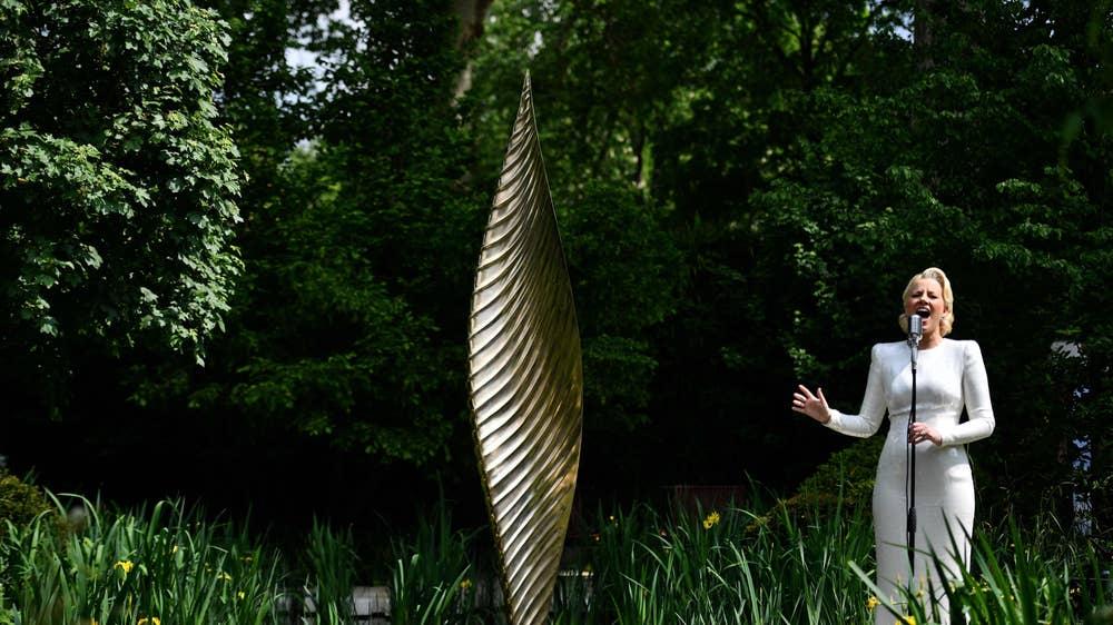 The Savills and David Harber Garden