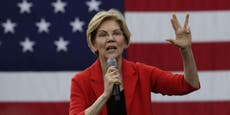 Elizabeth Warren leads Democrats firing back after being singled out in 'never-ending' Trump impeachment video