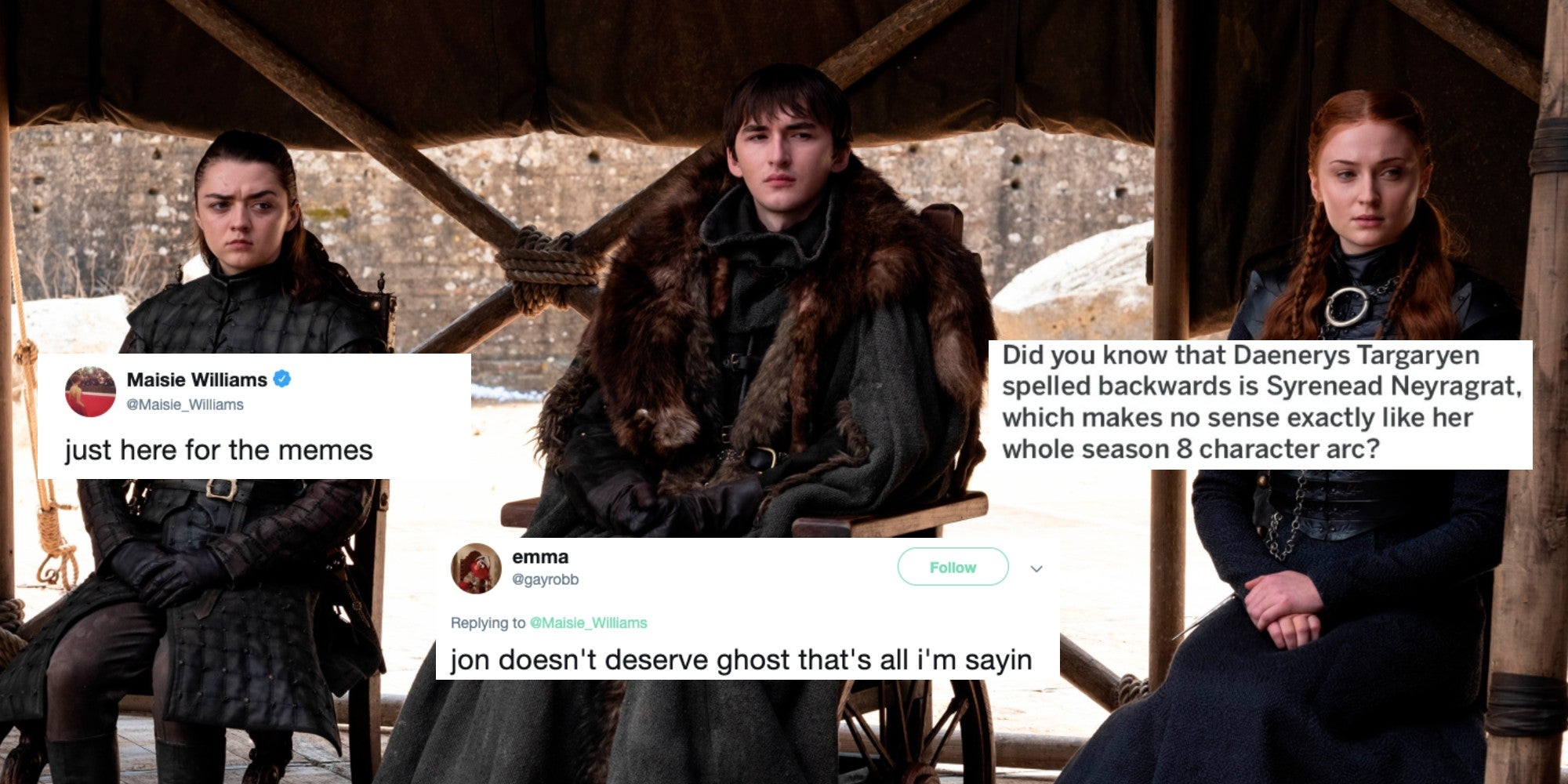 Maisie Williams asks Game of Thrones fans to send her ...
