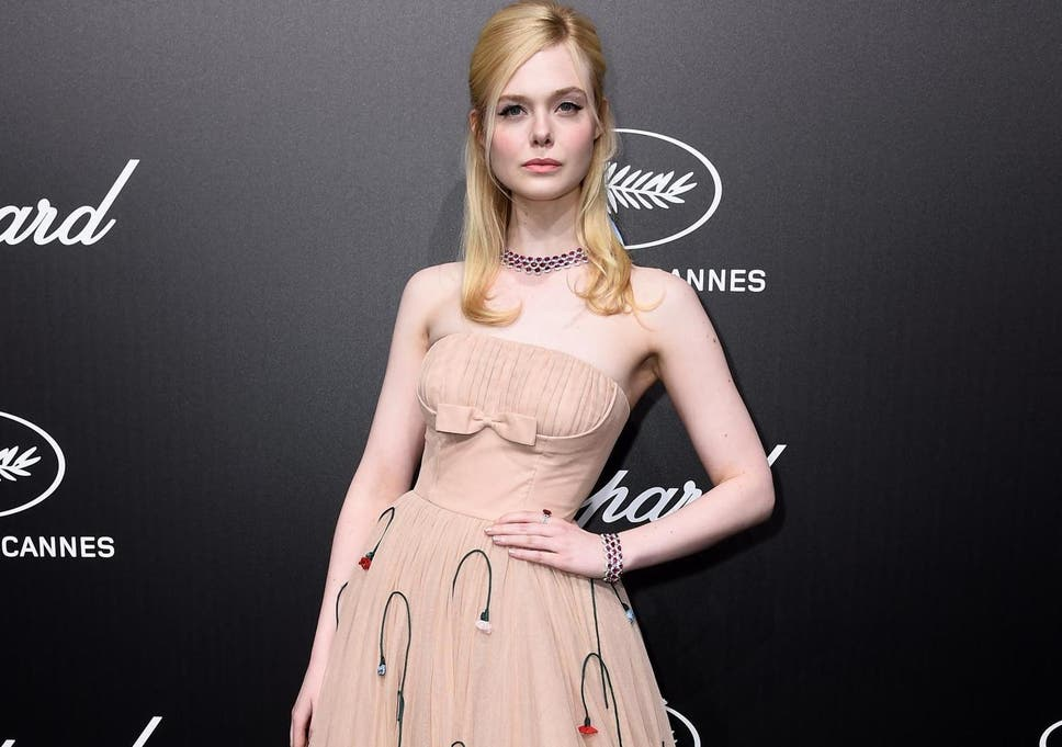de4014a68 Elle Fanning says she fainted at Cannes because dress was 'too tight' (Getty