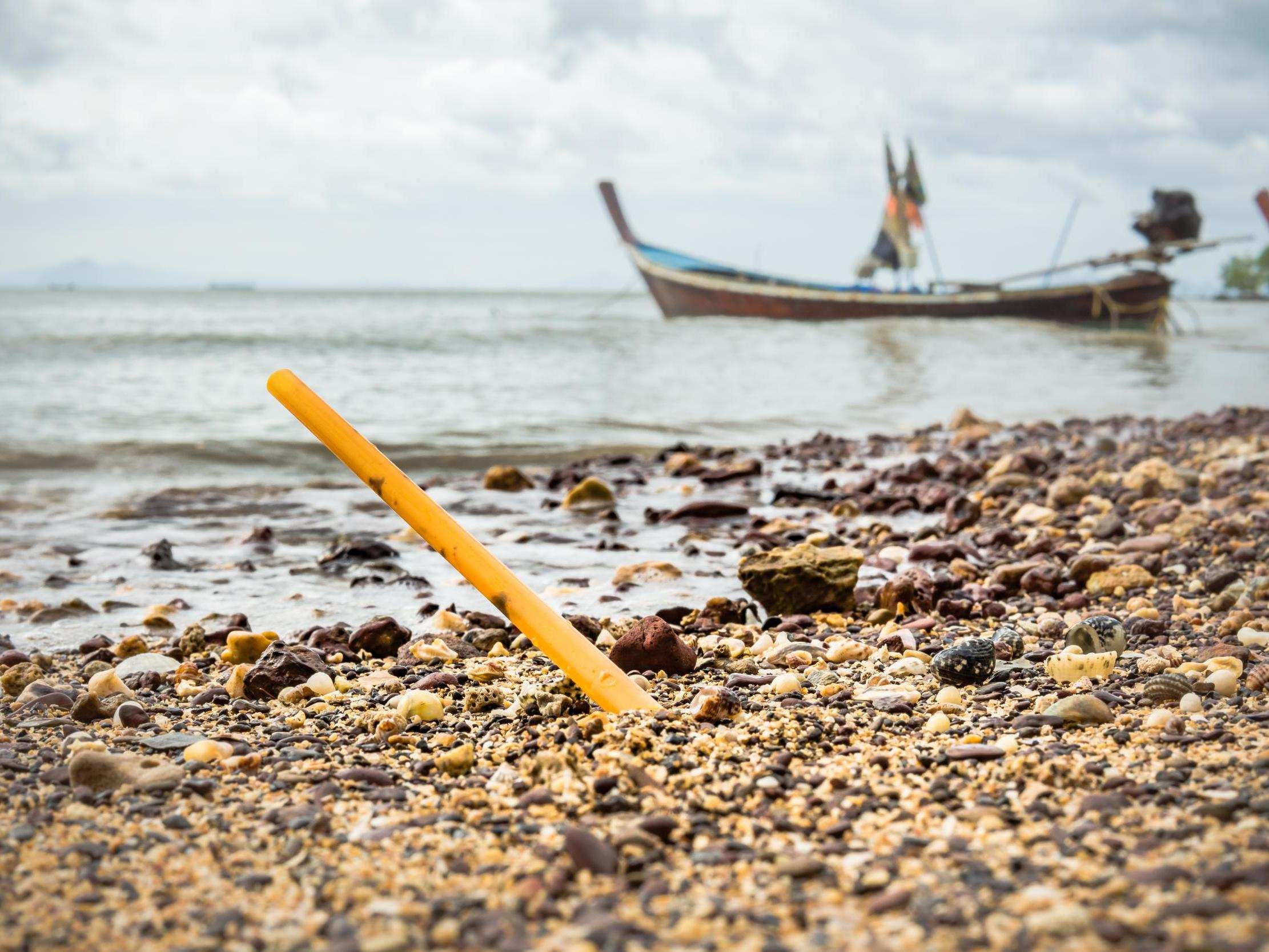 Plastic straws and cotton buds to be banned next year in effort to tackle plastic pollution