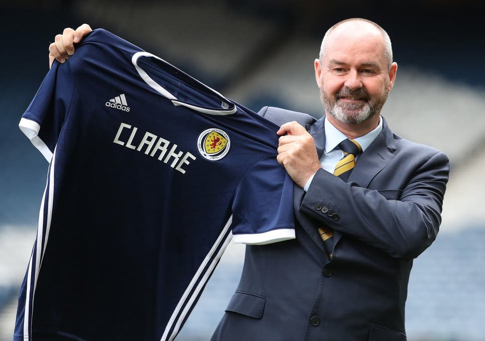 f30128921 Steve Clarke  burning with desire  to lead Scotland to a major ...