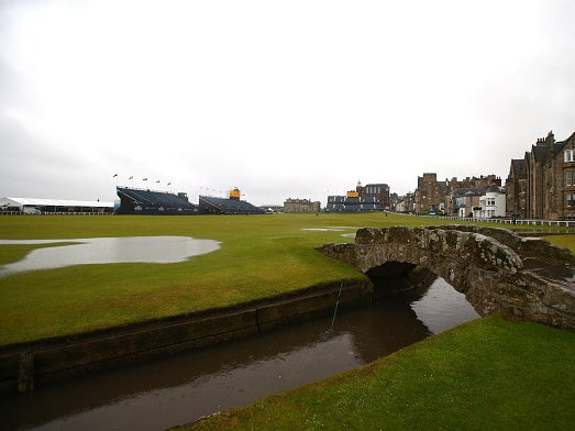 St Andrews, Carnoustie and Donald Trump's Doonbeg: The golf courses gasping for breath against rising tide