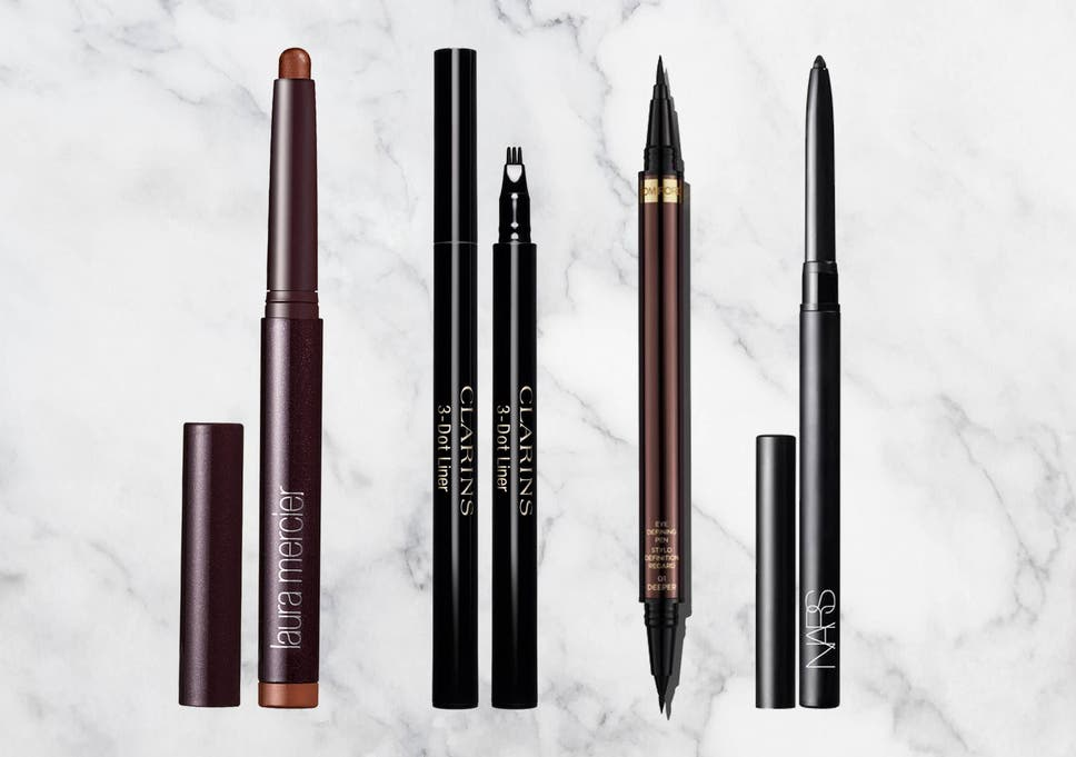 273405880c A gel eyeliner will give you that smudged, smoky effect, whereas a liquid  liner