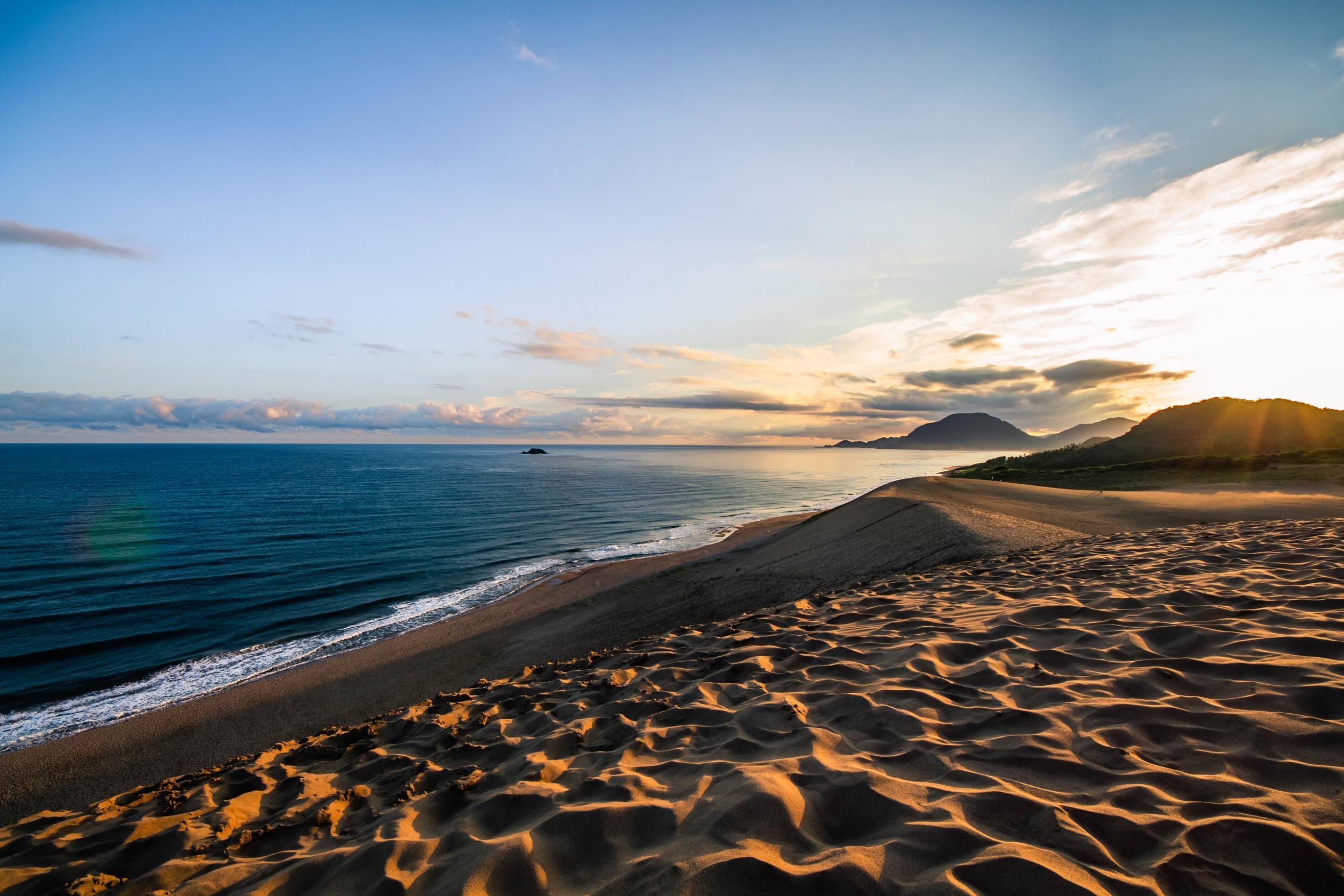 Tourists vandalise ancient Japanese sand dunes