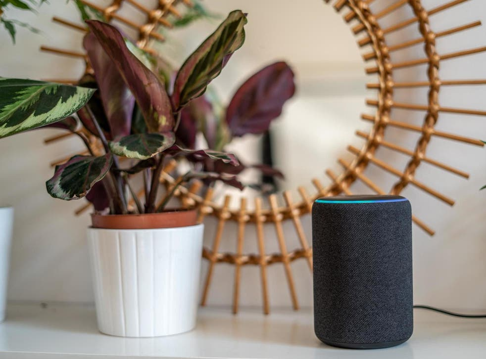 File image of Amazon Alexa Echo Plus.