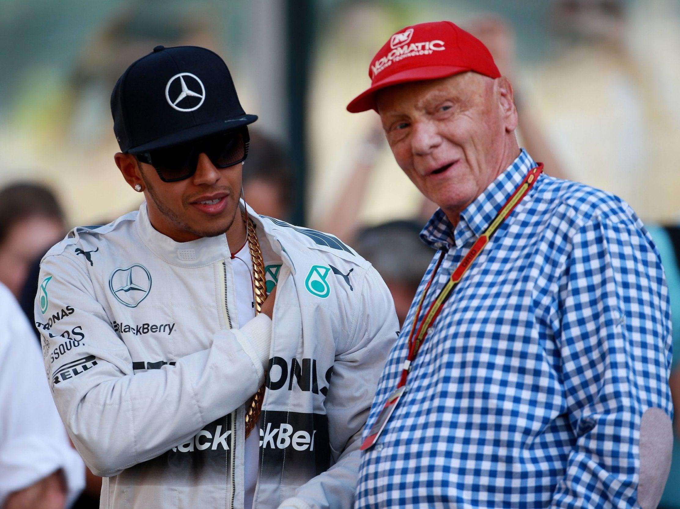 Japanese Grand Prix: Lewis Hamilton dedicates Mercedes' constructors' title to Niki Lauda