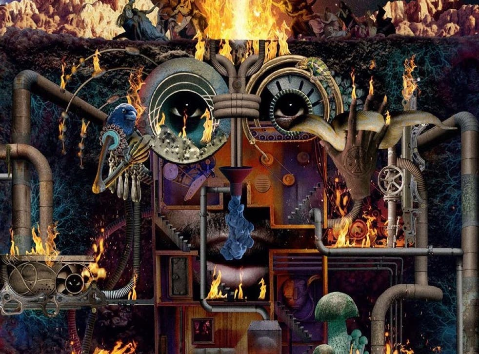 Artwork for Flying Lotus's album 'Flamagra'