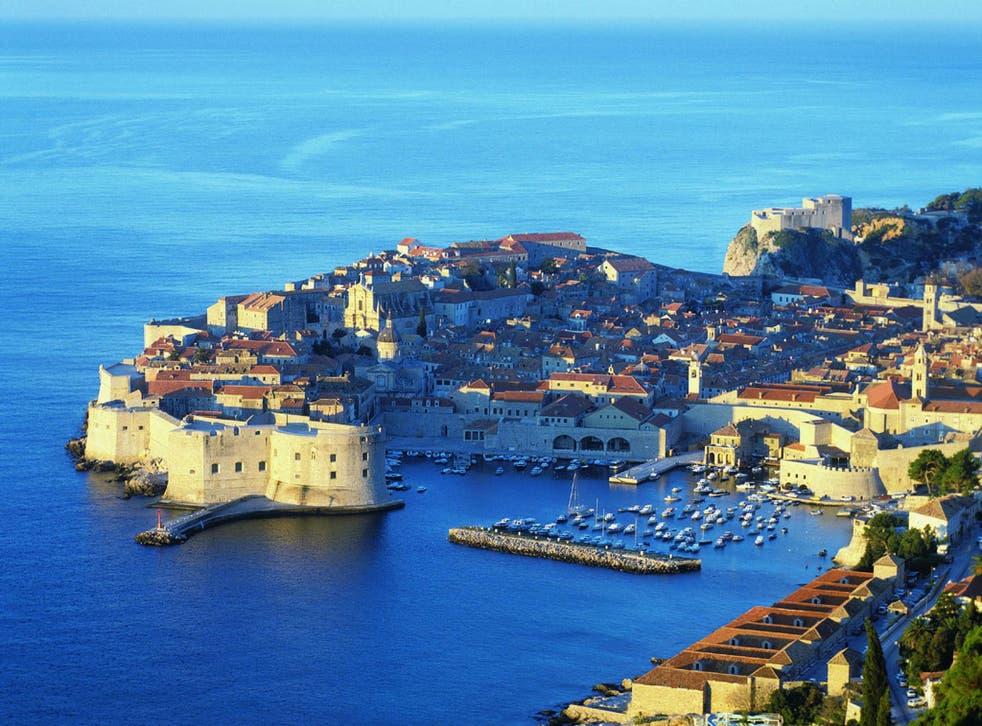 Dubrovnik is a popular tourist destination