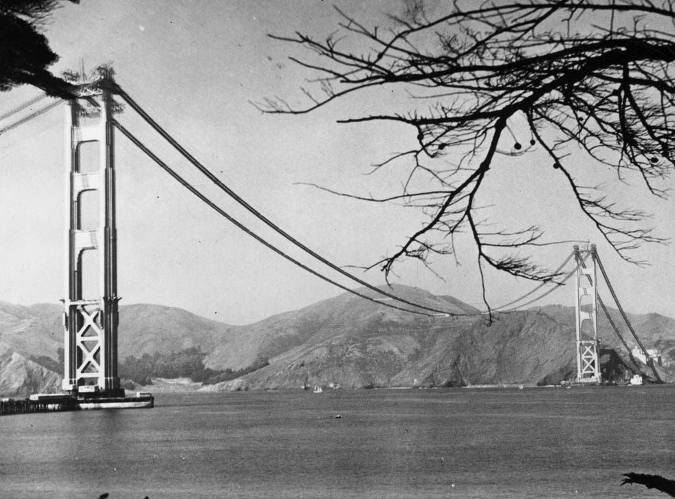The Golden Gate Bridge opened this day in 1937