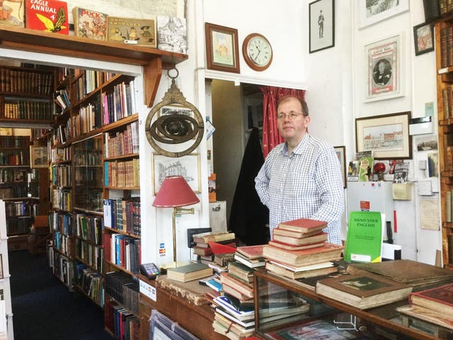 One year after buying Bookshop on the Heath in Blackheath, southeast London, Ian Irvine remains upbeat about the industry