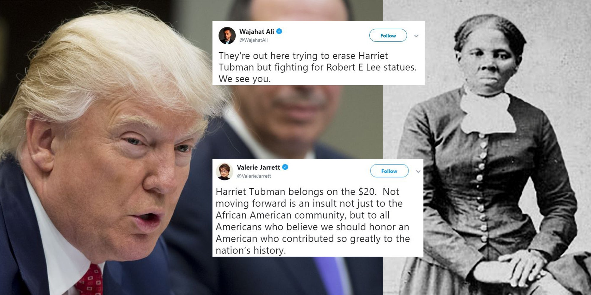 Trump administration accused of 'racism' after delaying plans to include slavery abolitionist on new $20 bill