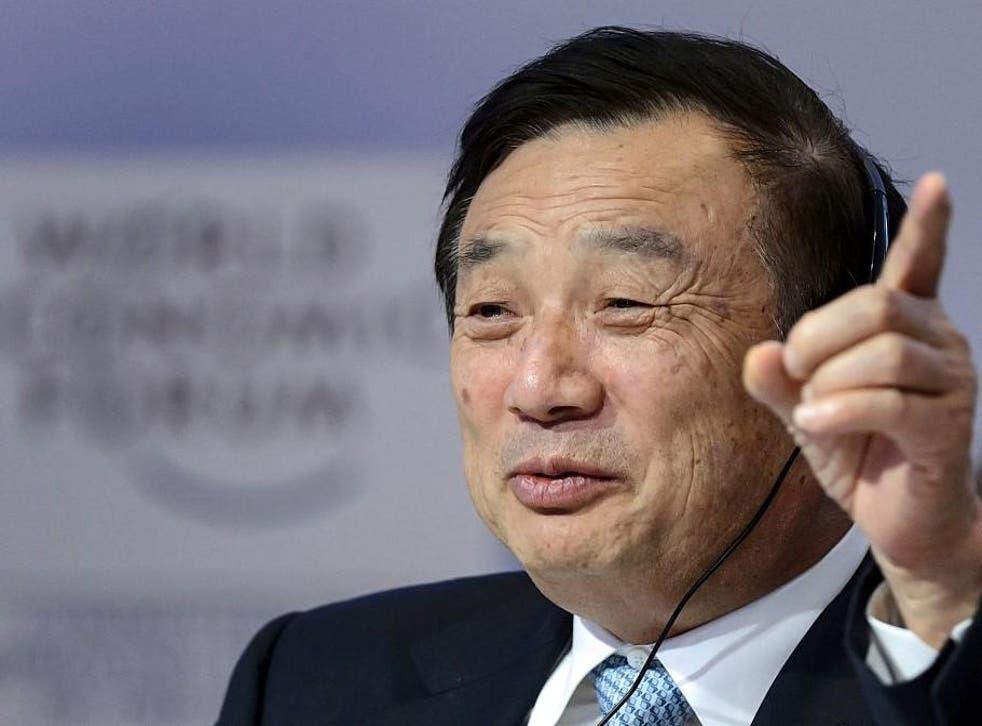 Huawei founder and CEO Ren Zhengfei revealed he's a big fan of Apple's iPhone