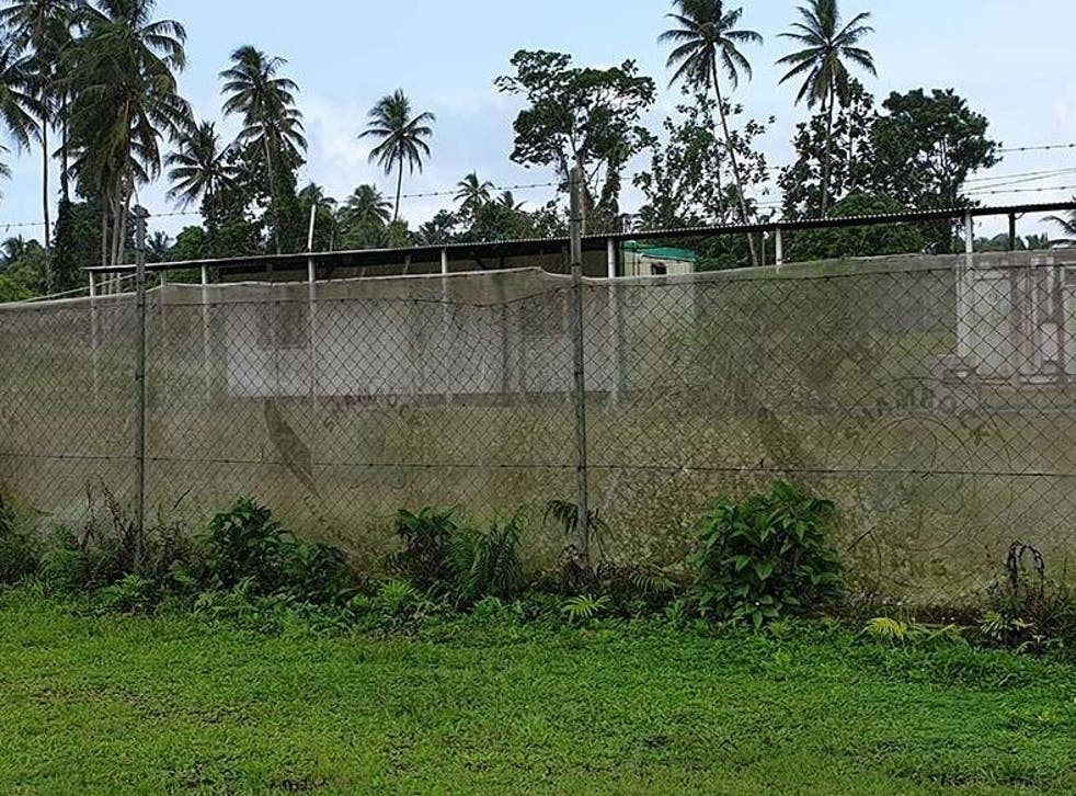 Refugees have been living in compounds on Manus Island since Australia's detention centres closed