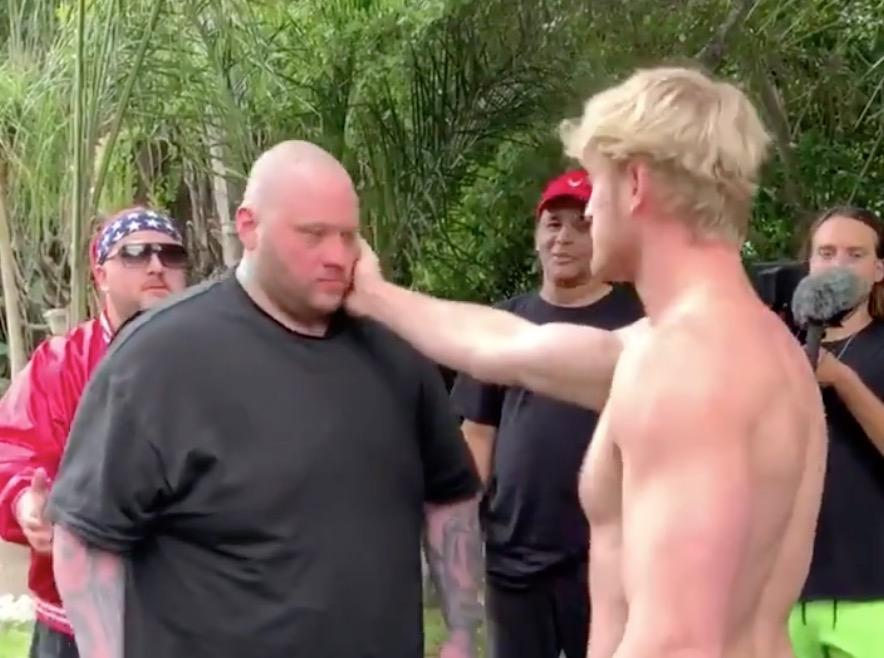 Logan Paul slaps man unconscious in latest video as he pulls out of slapping competition