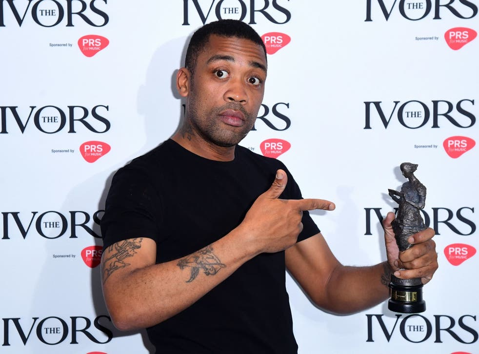 Wiley won the Ivor Inspiration Award during the Annual Ivor Novello Songwriting Awards at Grosvenor House in London