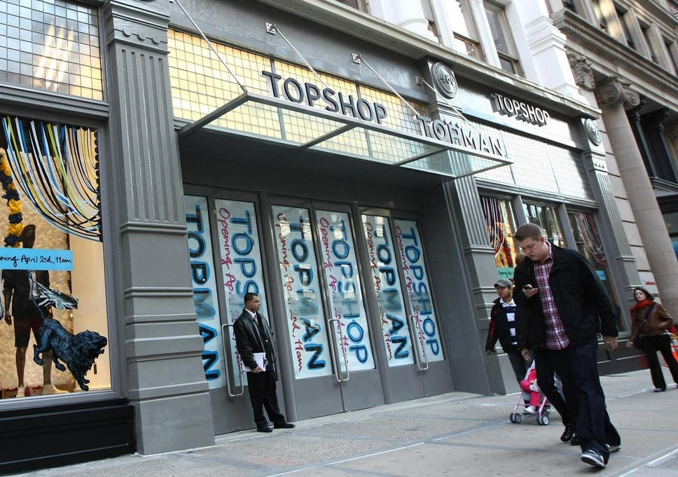 5b36116f3 Topshop: US stores to close, Philip Green's Arcadia Group announces
