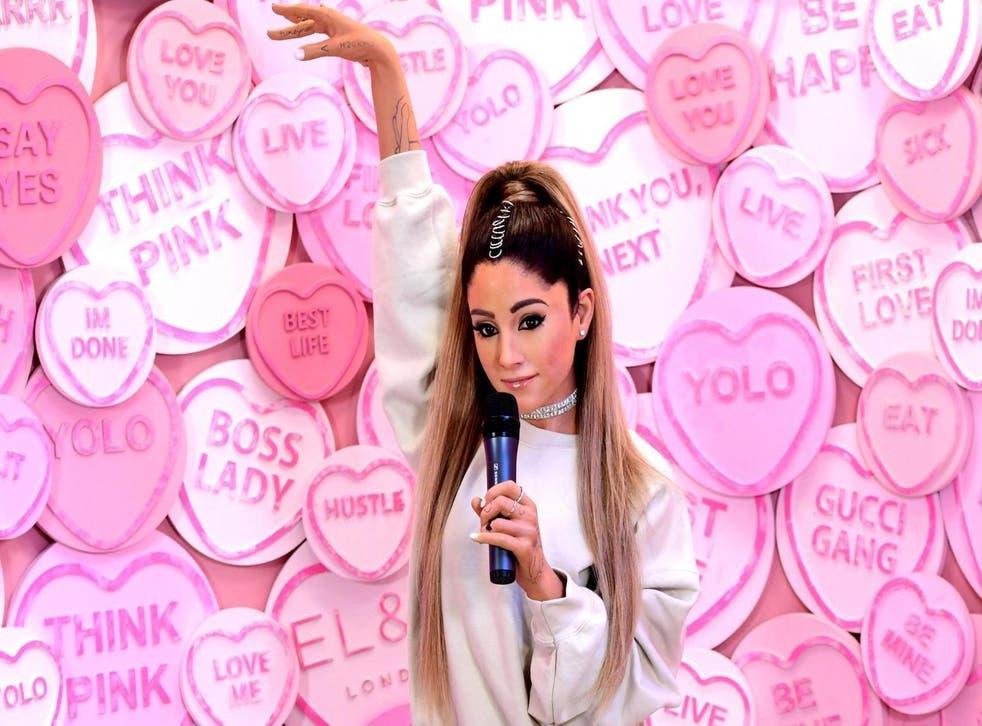 Madame Tussauds London unveils new Ariana Grande figure (PA)