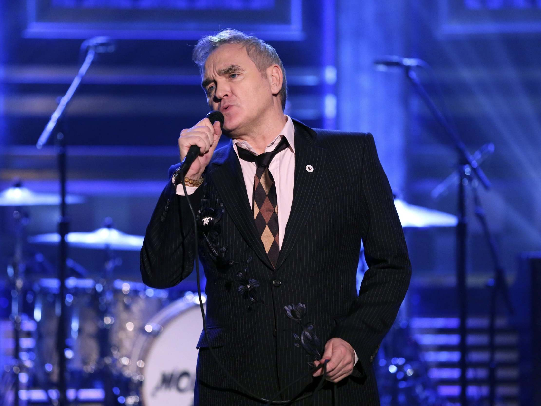 Morrissey calls for end to 'Soviet Britain' and 'totalitarian control'