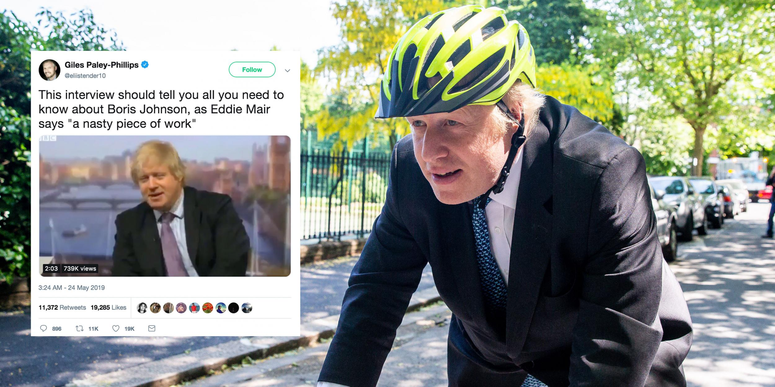 Boris Johnson: Former foreign secretary called a 'nasty
