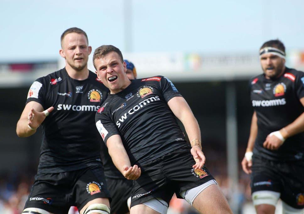 d5e16e24 Exeter outclass Northampton to book Premiership final spot and a ...