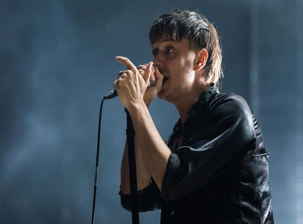 Julian Casablancas of The Strokes performs at All Points East festival