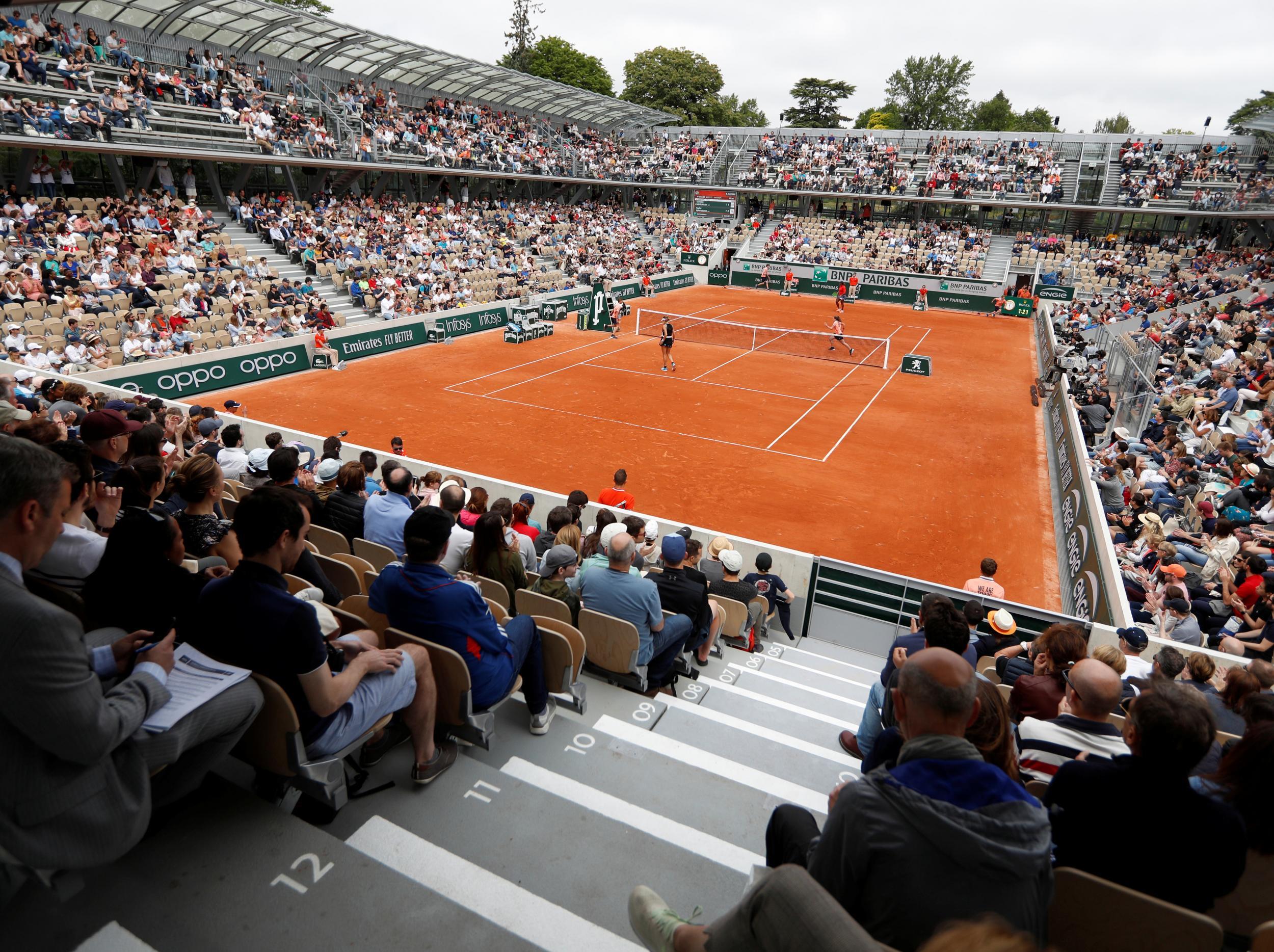 French Open 2019 Court Simonne Mathieu Stunning New