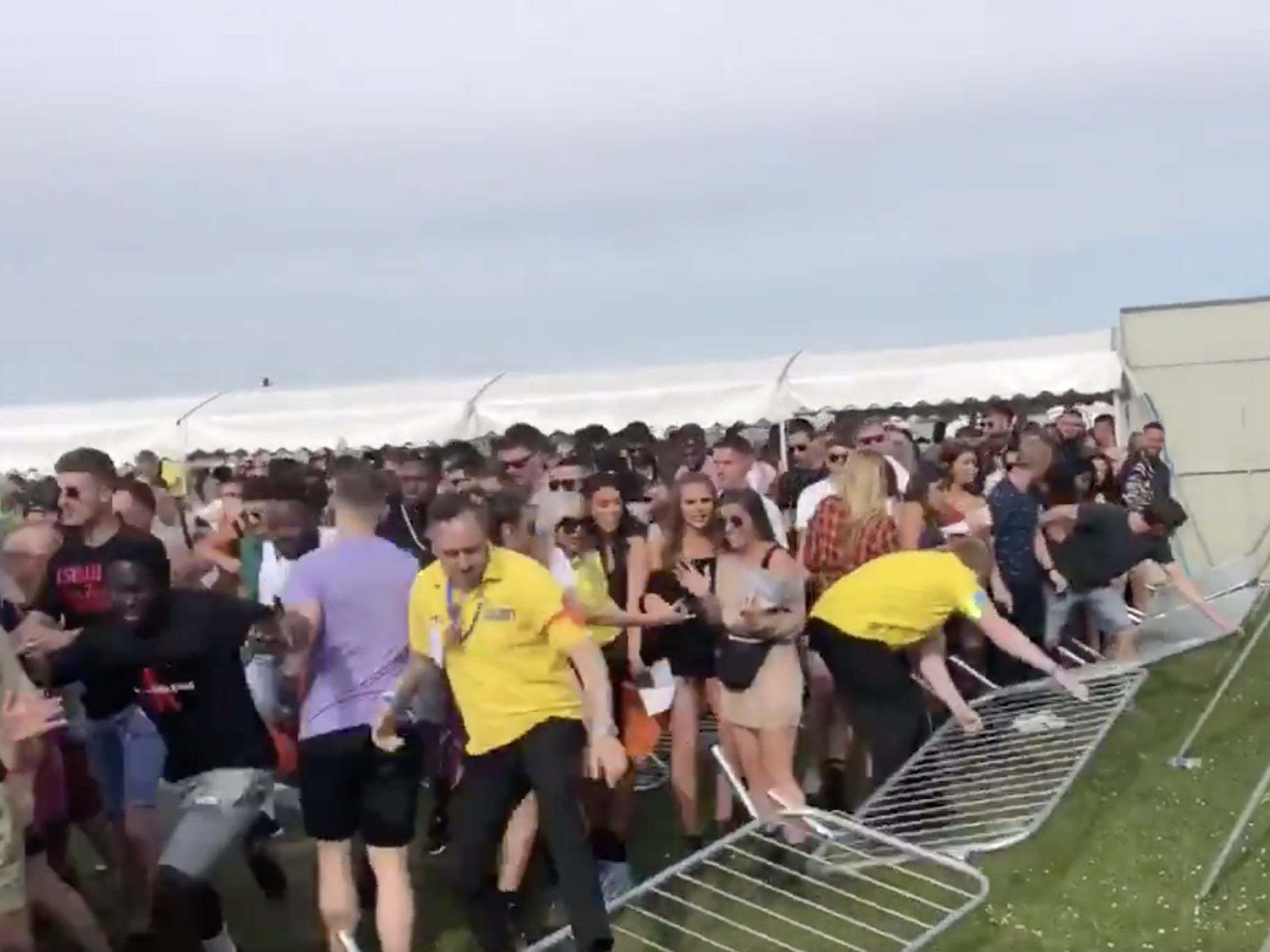 We Are FSTVL: London festivalgoers 'collapse' after queuing for three hours in the sun