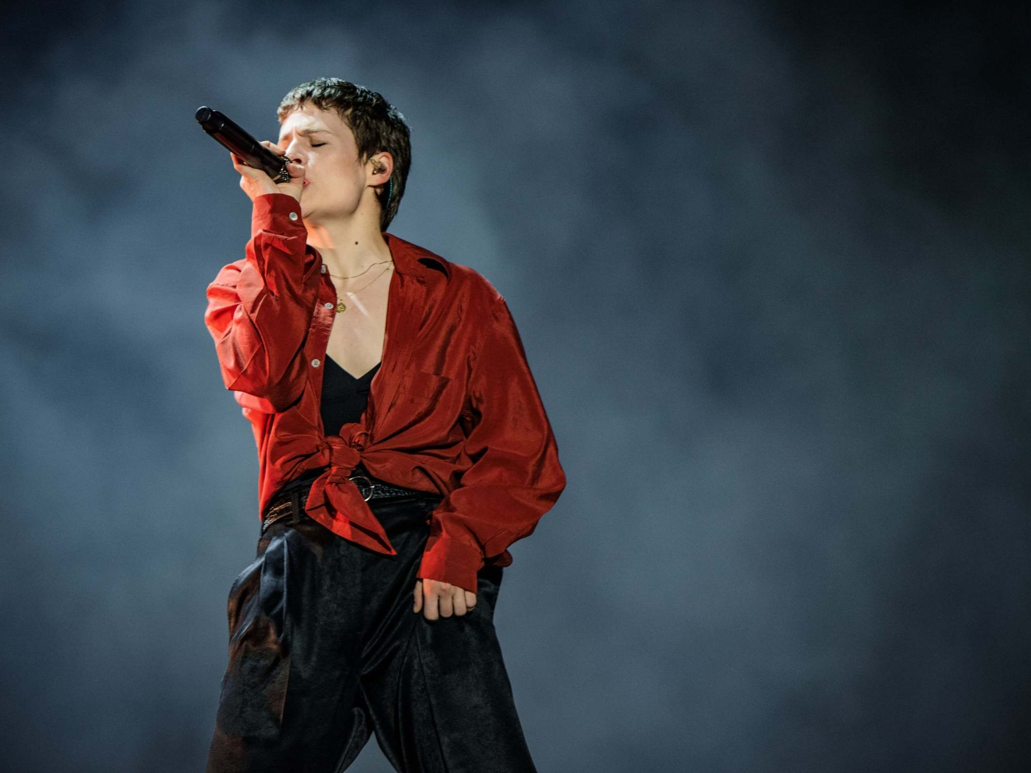 Christine and the Queens, All Points East review: A tiny tour de force