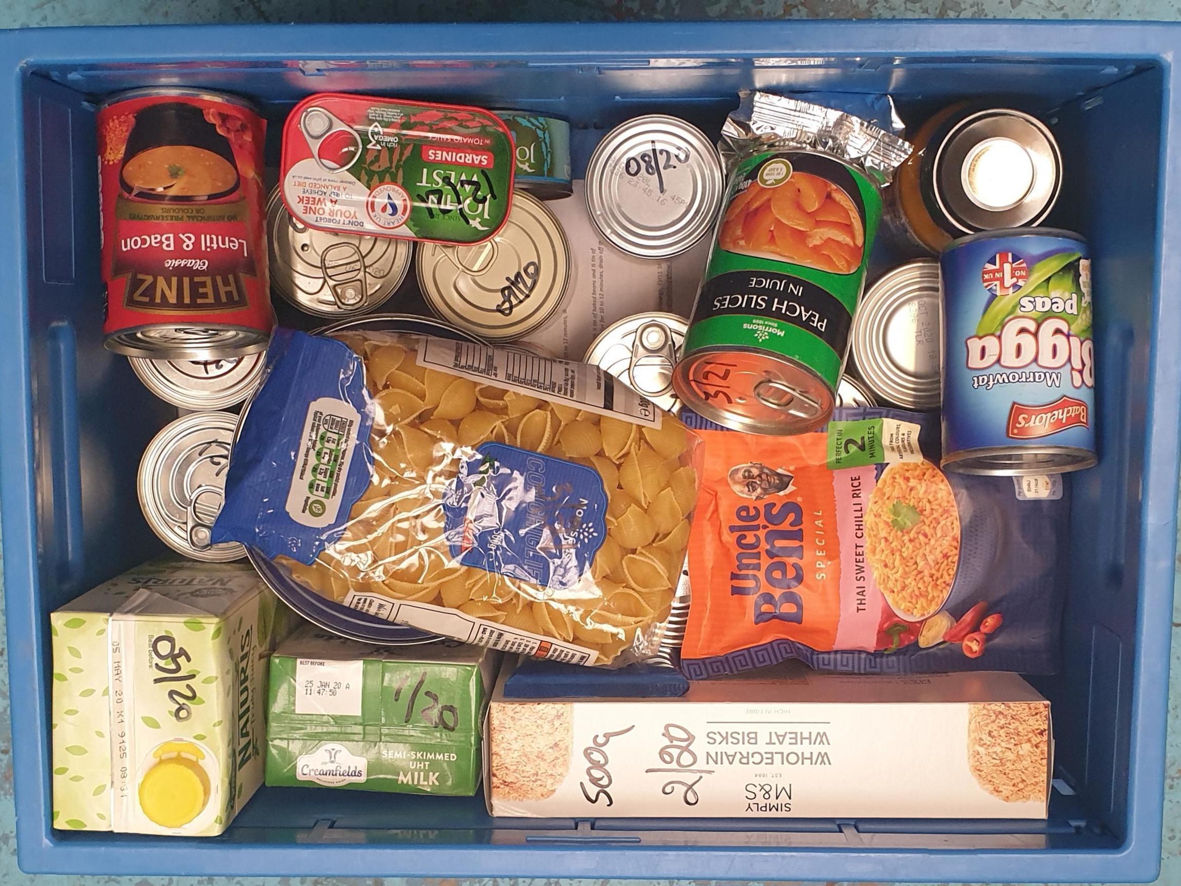 Edinburgh food bank users 'on brink of starvation as supplies run low amid soaring demand'
