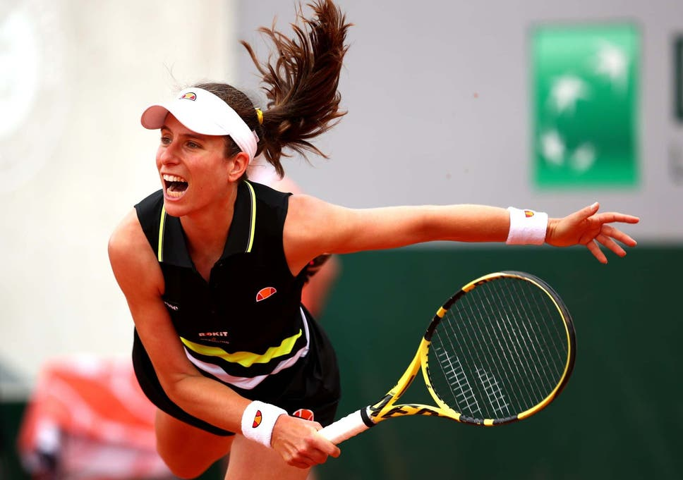 Image result for johanna konta french open 2019